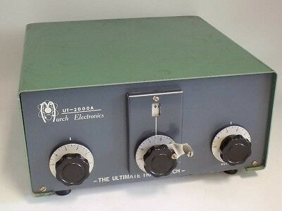 Very Good Condition Murch Ut-2000A 2Kw 3.5-30 Mhz Roller Inductor Antenna Tuner