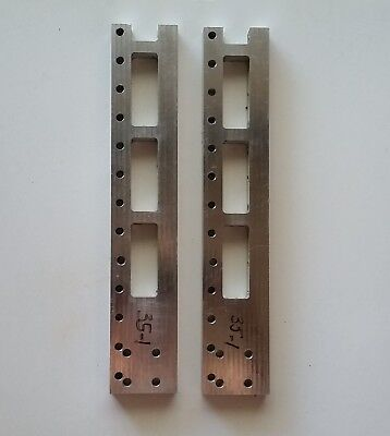 Brackets Pair X Axis Vertical Support Micro Mill Engraver Router (p35)