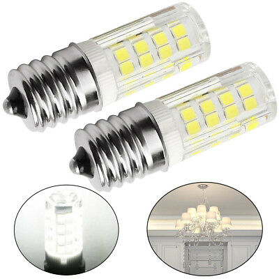 2PCS LED Replacement Light Bulb for Appliance E17 Socket 4W Oven Bulbs Fast
