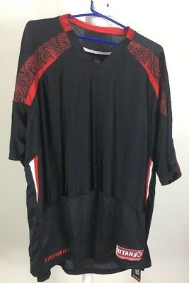 45c7d4281 Under Armour Men s Size XL Loose Heat Heat Utah Utes Red Black Football  Jersey