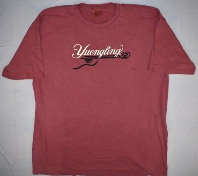 Yuengling Lager Genuine T-shirt Mens Large Perfect Condition Red Sz XL