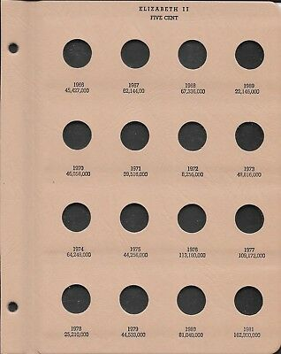 Coin Album  Australian 5 And 10 Cent  1966-1997  Dansco Supreme - See Both Sides