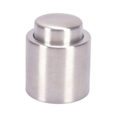 Stainless Steel Reusable Vacuum Sealed Champagne Red Wine Bottle Stopper Cap ATA