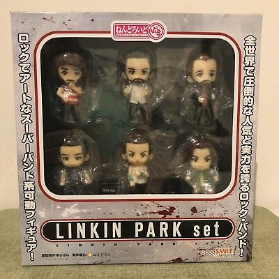 New LINKIN PARK Nendoroid Petit Figure Toy Chester Bennington Mike Shinoda