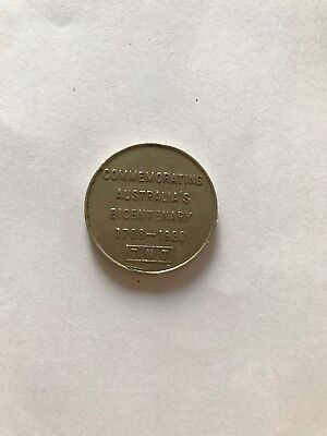 Tnt Darling Harbour Monorail Coin Token 1988 Bicentenary