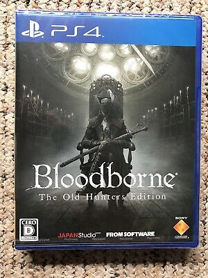 Bloodborne The Old Hunters Edition Japan New & Sealed