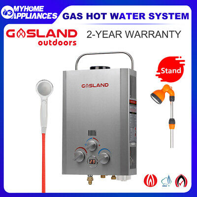 CAMPLUX Portable Gas Hot Water System Outdoor Camping Shower Caravan Instant