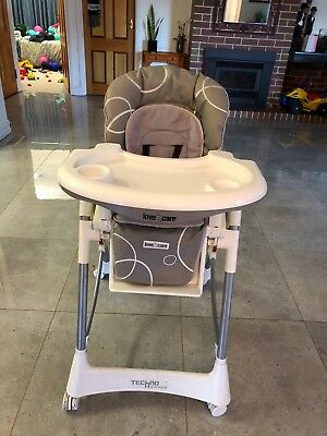 Love N Care Techno Highchair BP 899