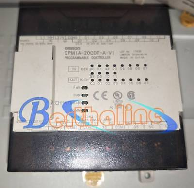 1PC Used Omron PLC programmable control unit CPM1A-20CDT-A-V1