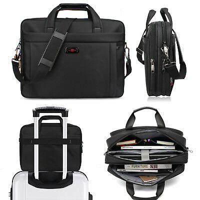 Men's Travel Bag Laptop Shoulder Business Briefcase Handbag Messenger Luggage AU