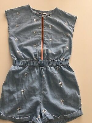 Girls M&S playsuit aged 7-8