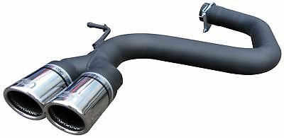 Audi A3 2.0TDi 170 Exhaust Rear Silencer Delete Tailpipe ULTER Twin 70mm