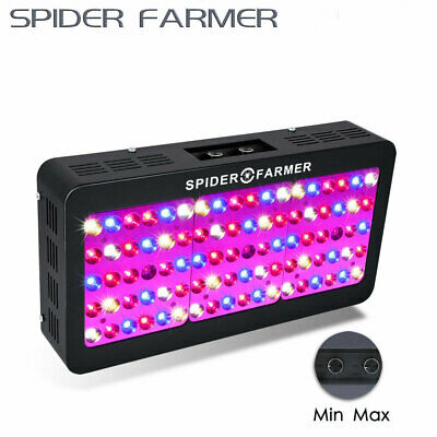 Spider Farmer 450W Volle Bandbreit LED Grow Light Dimmbar Veg Bloom Für pflanzen