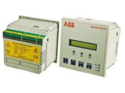 ABB LCD Digital Power Meter , 3 Phase , Class 1 Accuracy New With Box