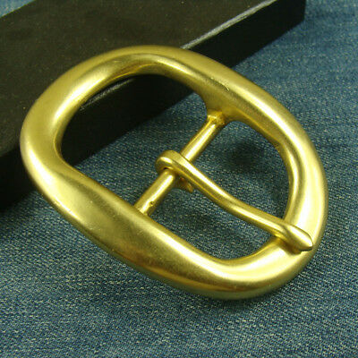 "Heavy Duty Solid Brass Pin Belt Buckle Men's/Womens Belt Buckles for 1.5"" Belt"