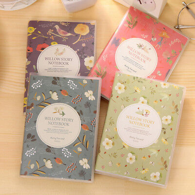1X Charming Adorable Cartoon Small Notebook Handy Notepad Paper Notebook new.
