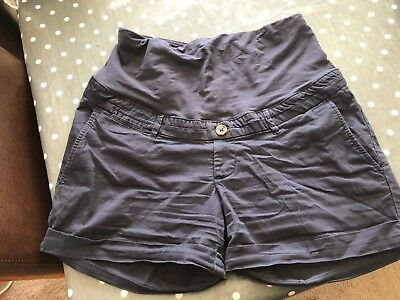 H&M Maternity Over Bump Chino Shorts Size 12