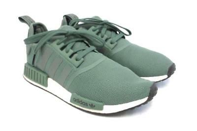 more photos 47cf0 6b481 Adidas NMD R1 Trace Green Olive Cargo White Boost Shoes Nomad  BY9692 Men Sz  11