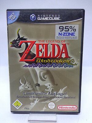 GameCube Spiel - The Legend of Zelda: The Windwaker + Bonus Disc(mit OVP)(PAL)
