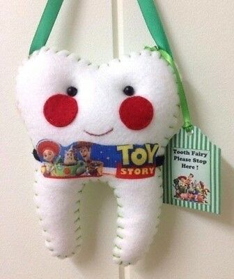 Tooth Fairy -Toy Story Inspired-  Handmade Lost Tooth Goes In Back Pocket
