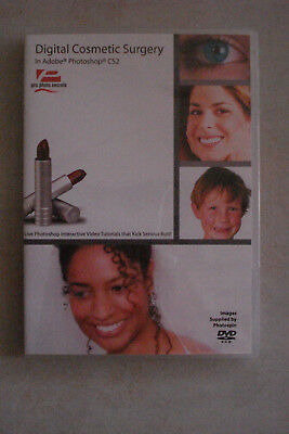 -  Digital Cosmetic Surgery In  Adobe Photoshop Cs2 (Dvd Rom) As New (Pc + Mac)