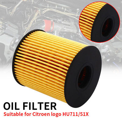 Oil Filter Fits Multiple Models HU711 Auto Accessories for Citroen