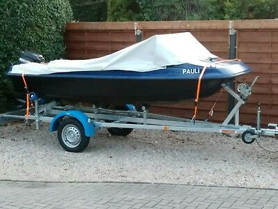 Boot mit 15 ps motor