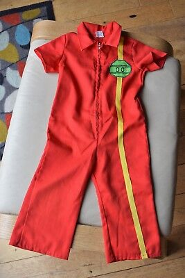 Retro 70s 80s Vintage Sears Cotton All in One Romper Playsuit