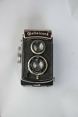 Rolleicord f3.5 with case TLR fair condition age uncertain