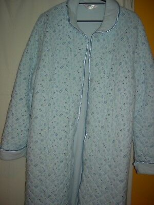 Ladies Lined Givoni Dressing Gown with belt Size L