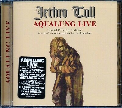 SEALED NEW CD Jethro Tull - Aqualung Live