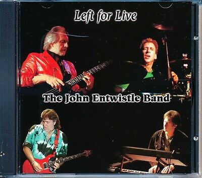 SEALED NEW CD John Entwistle Band, The - Left For Live