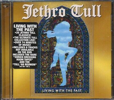 SEALED NEW CD Jethro Tull - Living With The Past