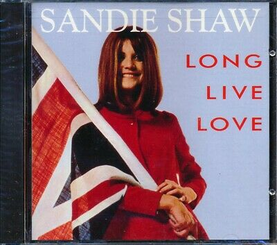 SEALED NEW CD Sandie Shaw - Long Live Love