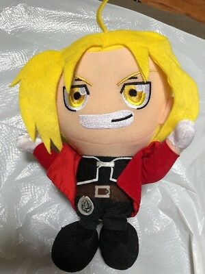 "Edward Elric - Fullmetal Alchemist 12""-2002 Plush Doll by Banpresto"