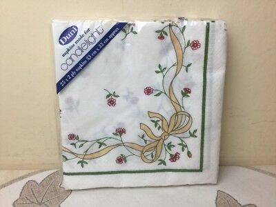 Johnson Brothers Eternal Beau Pack Of Paper Napkins Unused Still Wrapped