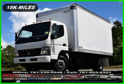 2010 Mitsubishi Fuso Fe145 Tilt Cab Forward Box Truck 4.9L Turbo Diesel Used AC