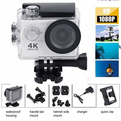 Ultra 4K Full HD 1080P Waterproof Sport Camera WiFi Action Camcorder As Go Pro H