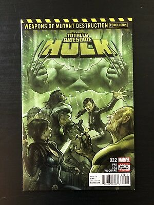 Totally Awesome Hulk #22 Weapon H 1st Appearance NM Marvel (Wolverine) Hot 🚀