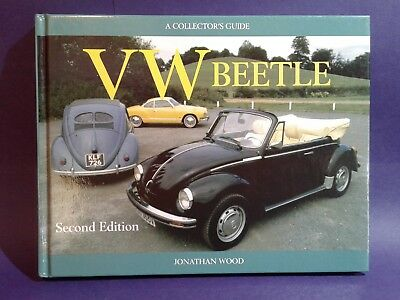 VW Beetle Collectors Guide 2nd Edition John Wood hardcover