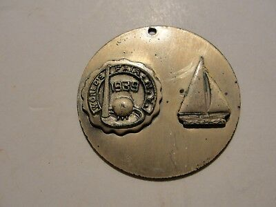 New York 1939 Worlds Fair Souvenir***metal Pendent