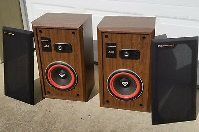 Vintage Pair of Cerwin Vega! AT-8 Floor Standing Speakers