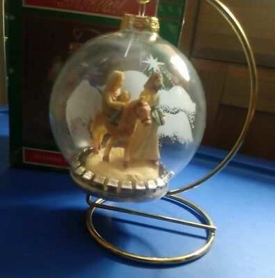 NIB House of Lloyd ~ Christmas Around The World ~ shepard ORNAMENT WITH STAND