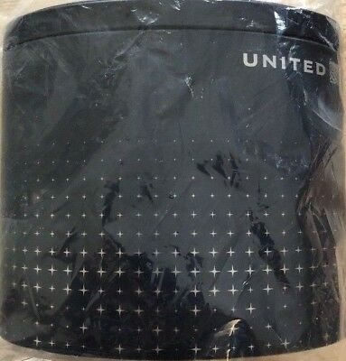 """United Airlines Polaris Business Class """"Northstar"""" Tin Amenity Kit SEALED"""