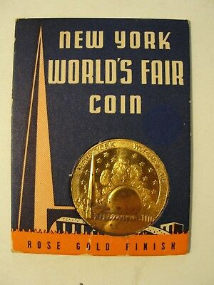 New York 1939-40 Worlds Fair Souvenir***coin In Original Package
