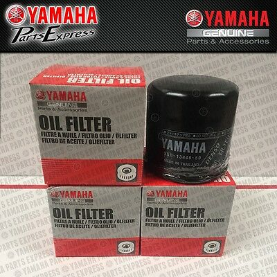 New Genuine Yamaha Yzfr1 Yzfr6 Yzf R1 R6 Sbk 4 Pack Oil Filters 5Gh-13440-60-00