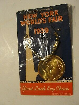 New York 1939-40 Worlds Fair Souvenir***coin In Original Packageing