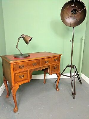 An Antique Style Leather Topped Ladies Writing Desk ~Delivery Available~