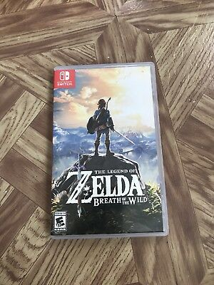The Legend of Zelda: Breath of the Wild Switch used