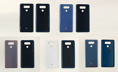 Replacement LG G6 H870 H871 Rear Back Glass Battery Door Cover With Adhesive